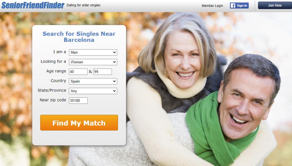 SeniorFriendFinder sitios de citas dirigidos a personas de más de 40 años